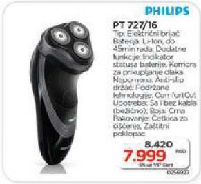Električni brijač Pt 722/16