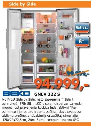 Frižider GNEV 322 S