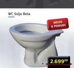WC šolja Beta