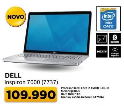 Laptop Inspiron 7000 7737