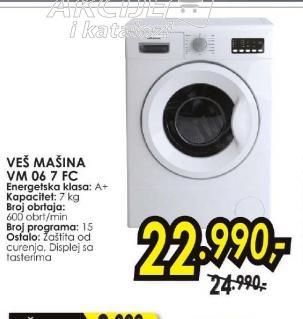 Veš mašina VM 06 7 FC