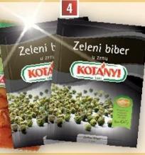 Biber zeleni