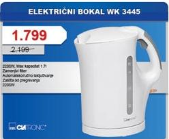 Električni bokal WK3445