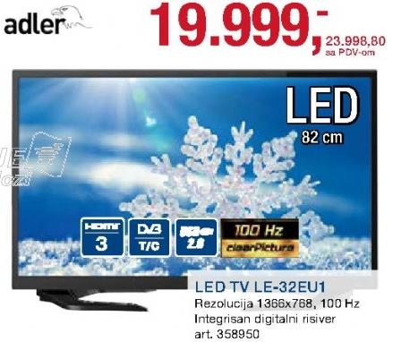 "Televizor LED 32"" Le-32eu1"