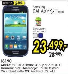 Mobilni telefon i8190 Galaxy S III mini