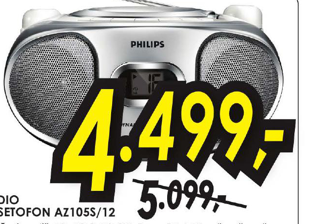 Radio Kasetofon AZ105S/12