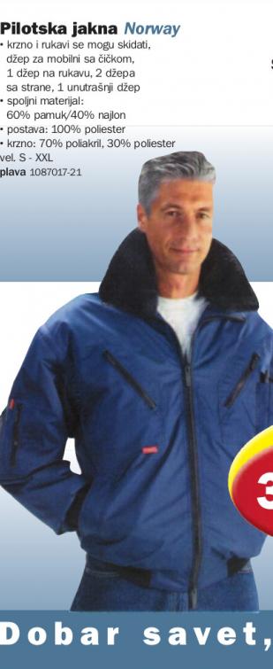 Pilotska jakna Norway