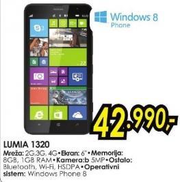 Mobilni telefon Lumia 1320