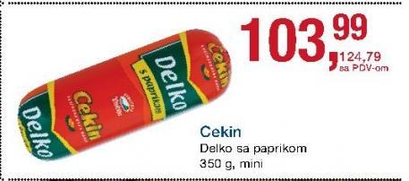 Kobasica posebna sa paprikom
