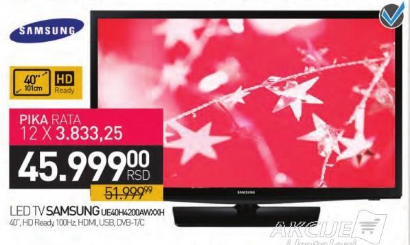 """Televizor LED 40"""" Ue40h4200awxxh"""