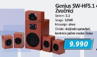 Zvučnici Sw-Hf5.1 4600