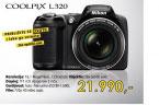 Digitalni fotoaparat Coolpix L320