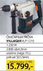 Električna čekićar bušilica Vlp1210