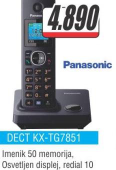 Fiksni telefon DECT KX-TG7851