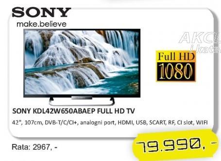 """Televizor LED 42"""" KDL-42W650ABAEP"""