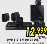 Dvd Sistem Dh-3120S