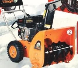 Snežna freza VST 65