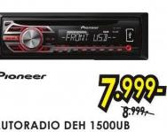 Autoradio DEH 1500UB