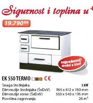 Šporet EK 550 TERMO