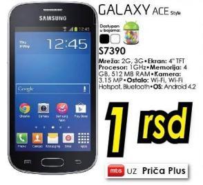 Mobilni telefon Galaxy Ace Plus