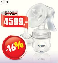 Pumpica za ismazanje mleka sa flašicom, Avent