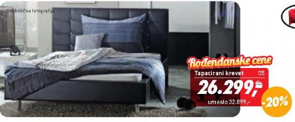 Tapacirani krevet Regina