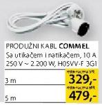 Produžni kabl Commel 5m
