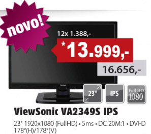 LED Monitor VA2349S IPS