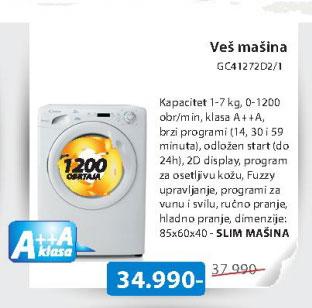 Mašina za pranje veš GC41272D2/1