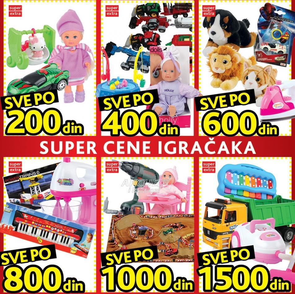 Super cene igračaka