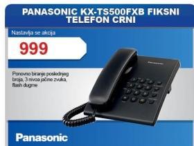 Fiksni telefon Kx-Ts500fxb