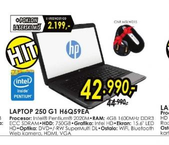 Laptop 250 G1 H6Q59EA