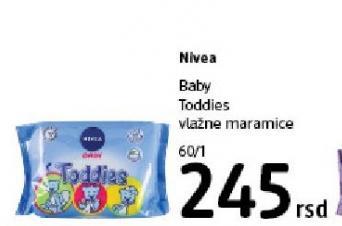 Vlažne maramice Baby Toddies