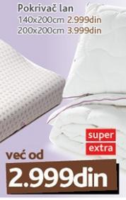 Pokrivač Lan 140x200 Vitapur
