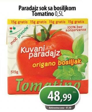 Sos paradajz i bosiljak