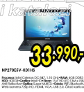 Laptop NP270E5V K01HS