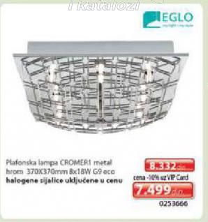 Plafonska lampa Cromer1