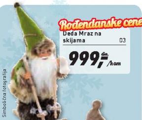 Deda Mraz na skijama