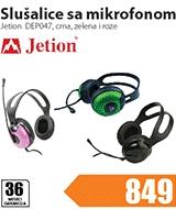 Slušalice sa mikrofonom DEP047