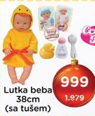 Lutka beba sa tušem
