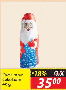 Čokoladni deda mraz
