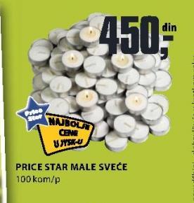 Male sveće Price Star