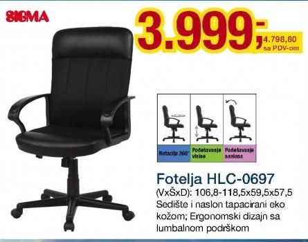 Fotelja HLC-0697