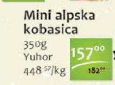 Kobasica alpska