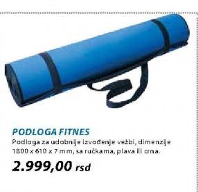 Podloga Fitnes