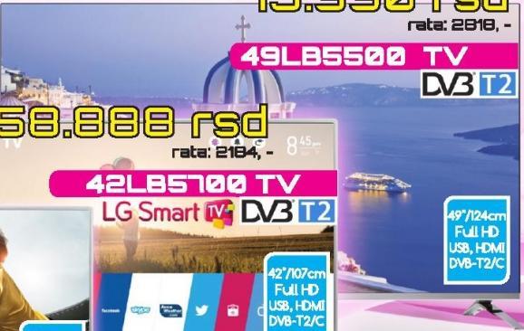 """Televizor LED 49"""" 49LB5500"""