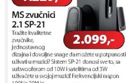 Zvučnici 2.1 SP-21