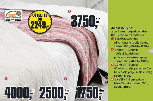 Letnji jorgan Comfort