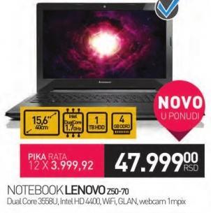 Laptop Z50-70