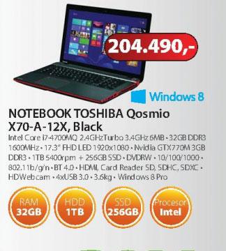 Laptop Qosmio X70-A-12X